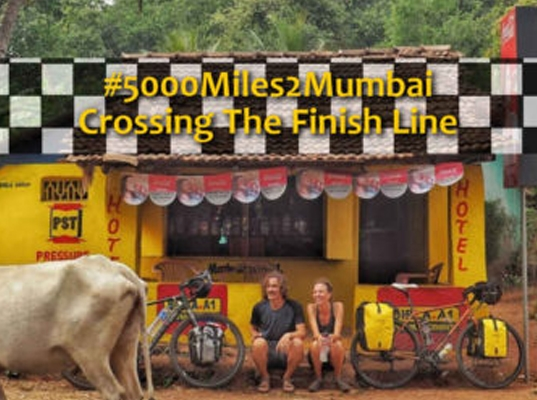 #5000Miles2Mumbai – Crossing The Finish Line!